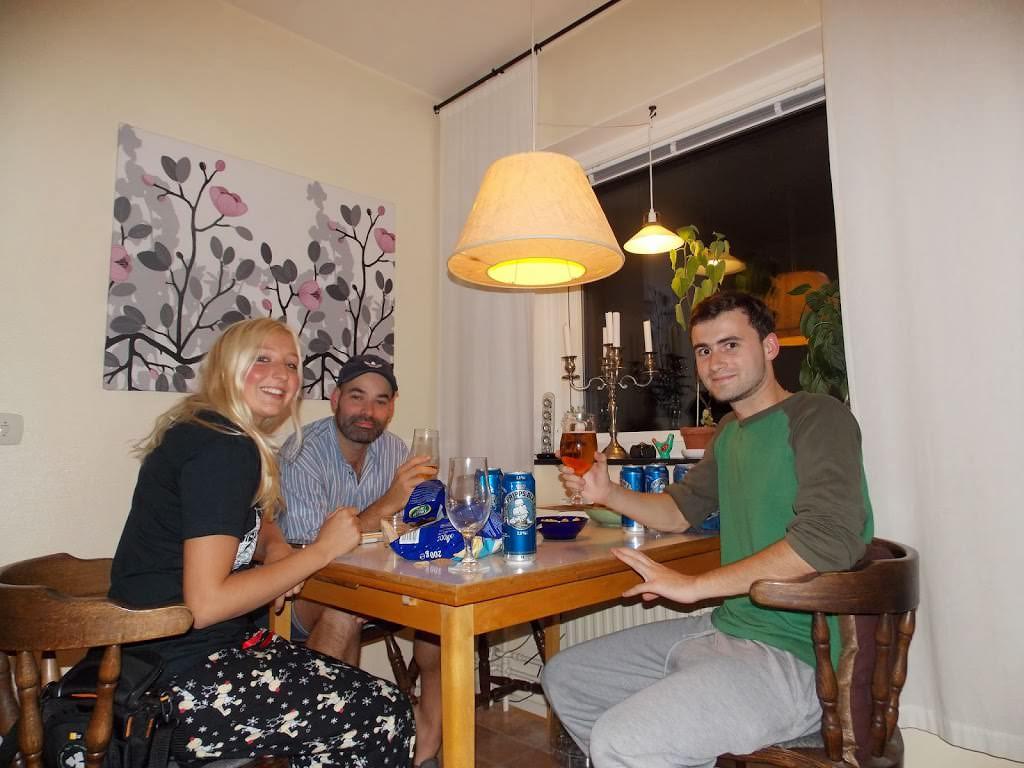 квартира Airbnb в Швеции