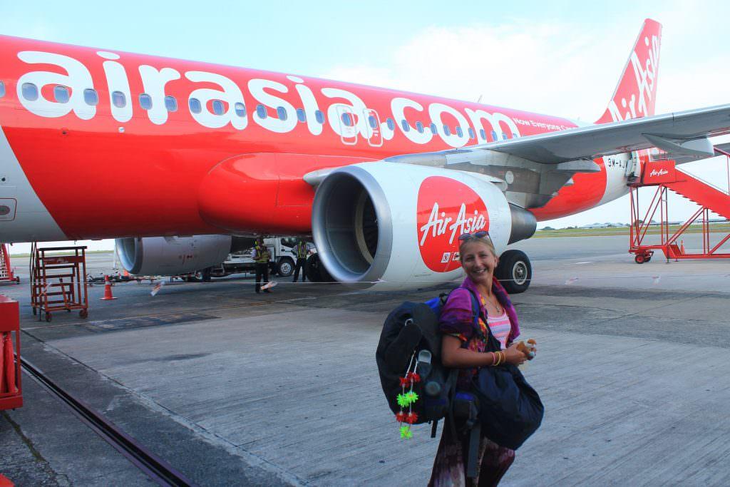 AirAsia багаж