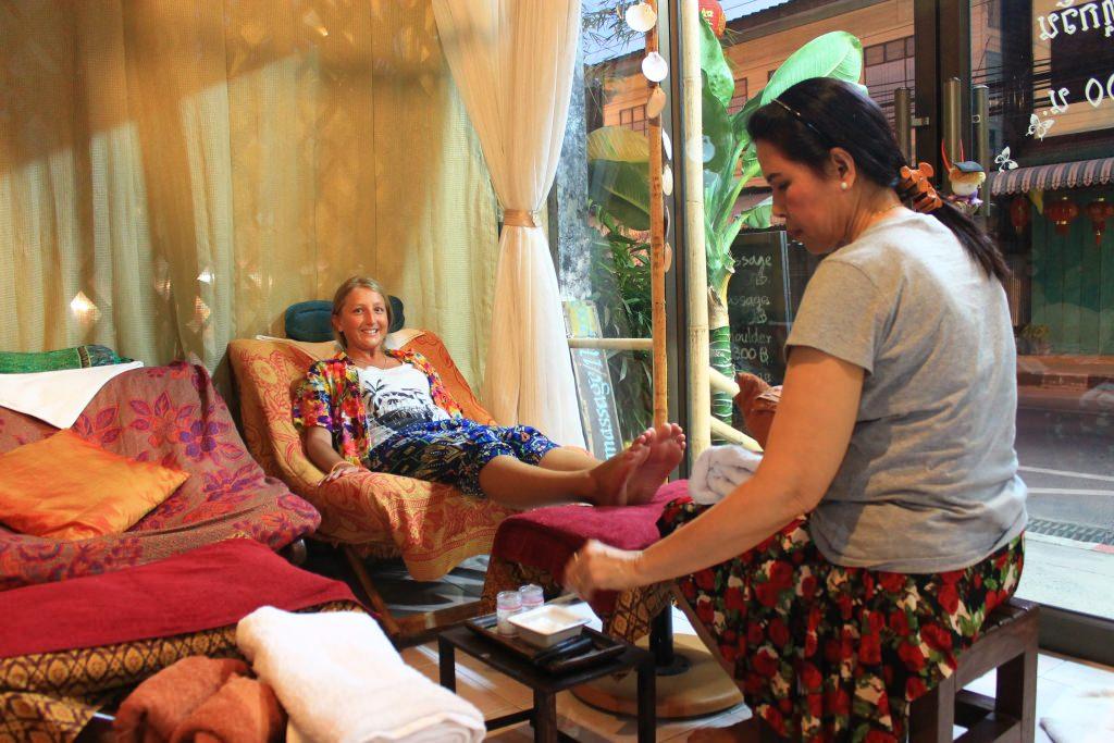 массаж в Таиланде