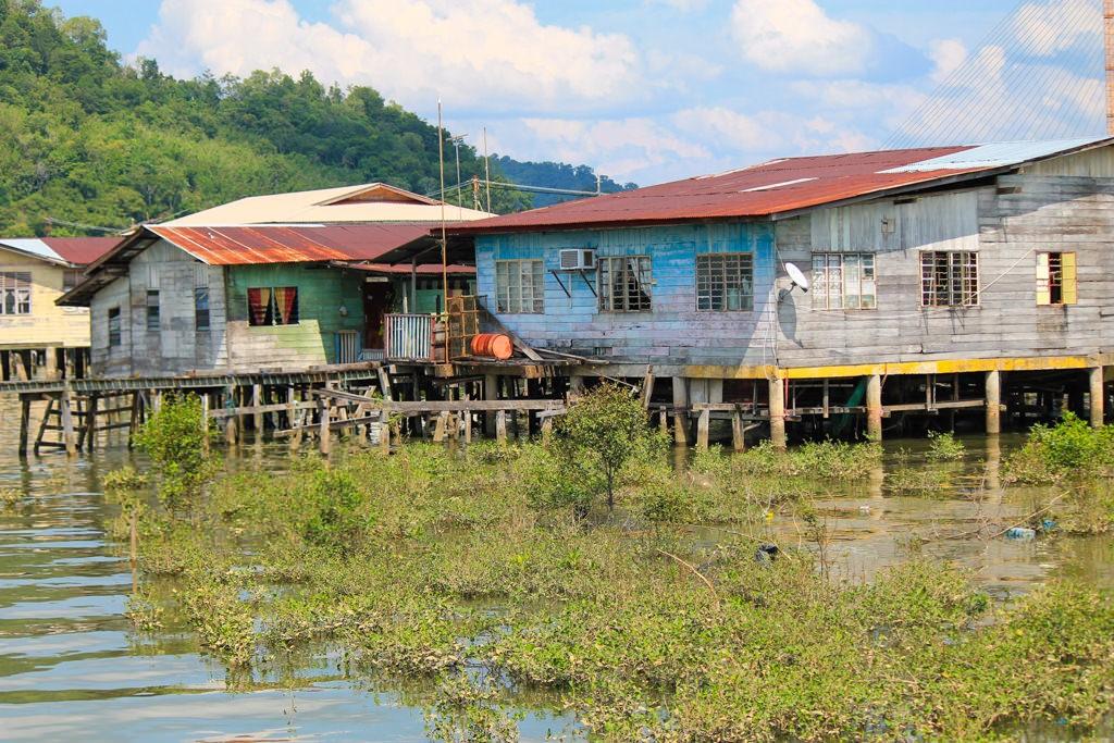 водная деревня