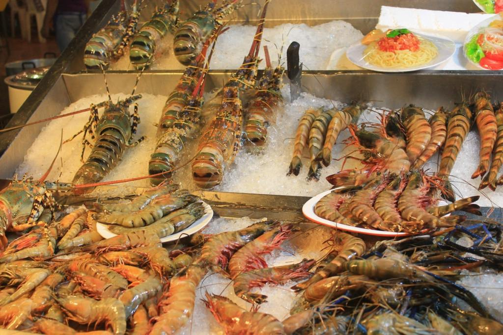 морепродукты в Таиланде