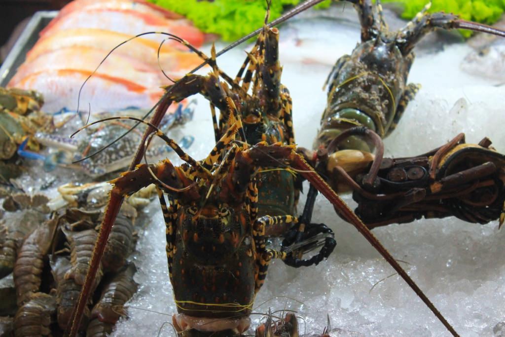 морепродукты в Азии