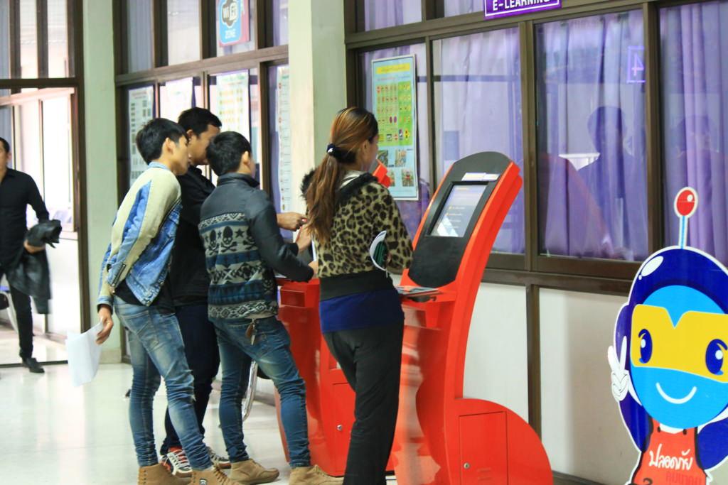 тест на права категории мопед в Таиланде