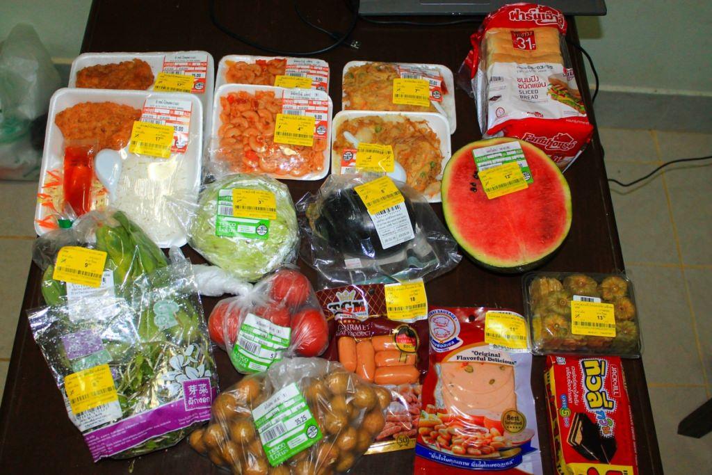 цены в супермаркете Таиланда