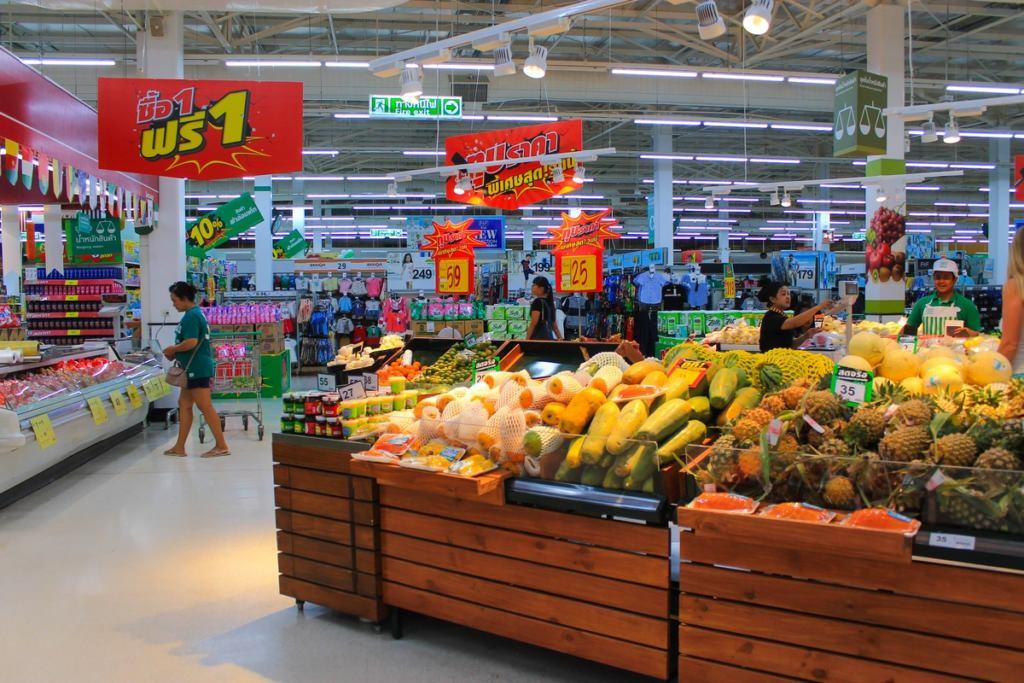 супермаркет таиланд