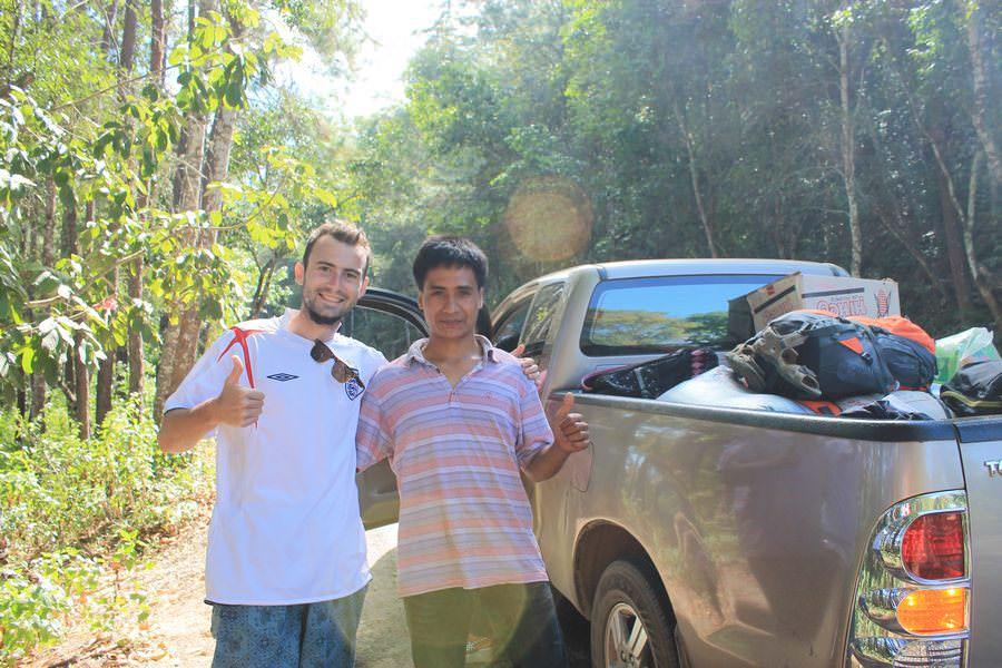 автостоп и таиланд