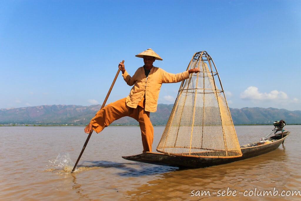 Мьянма и озеро Инле