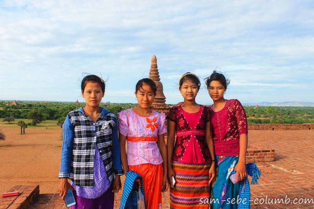 Люди в Мьянме