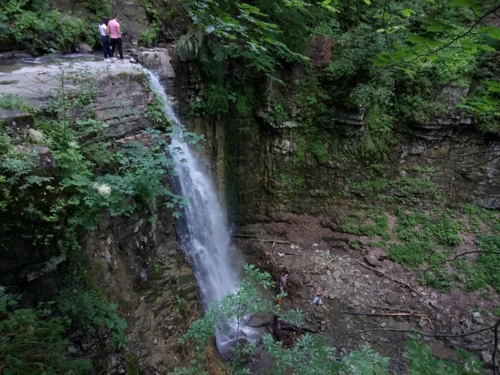 водопады в Украине