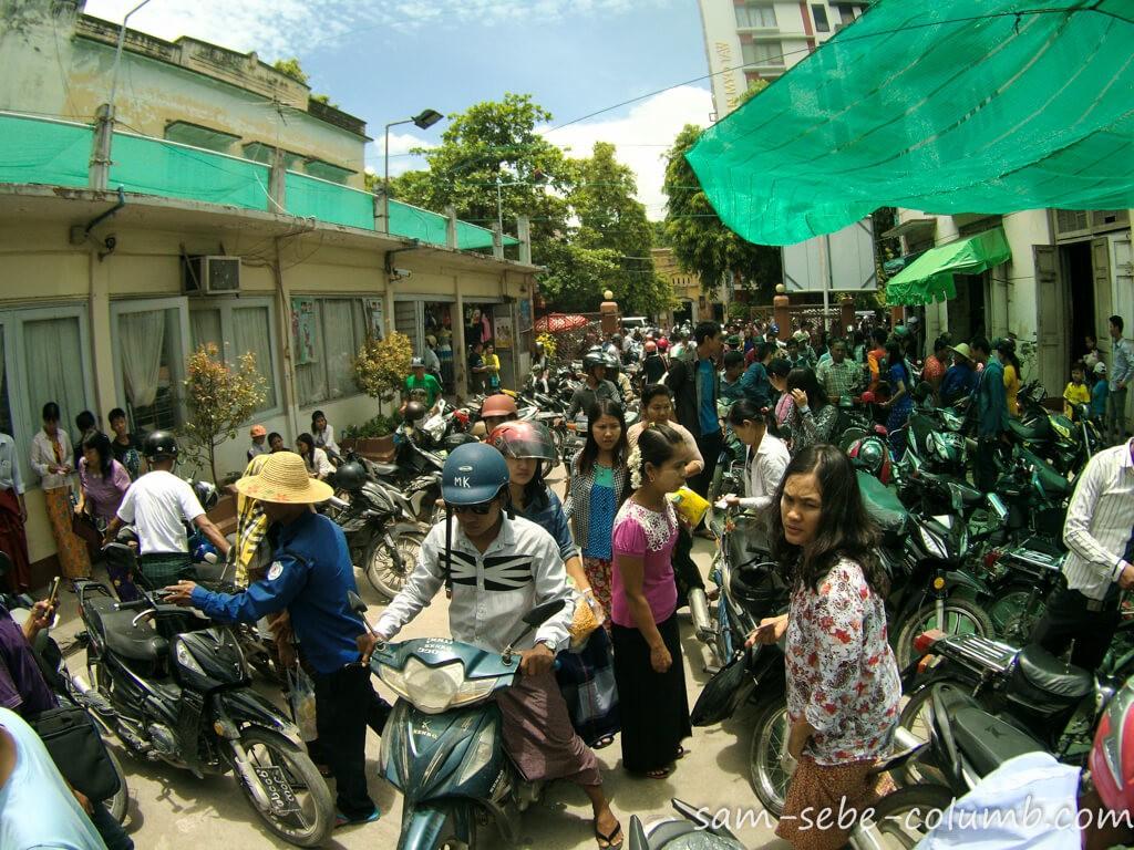 мопеды в Мьянме