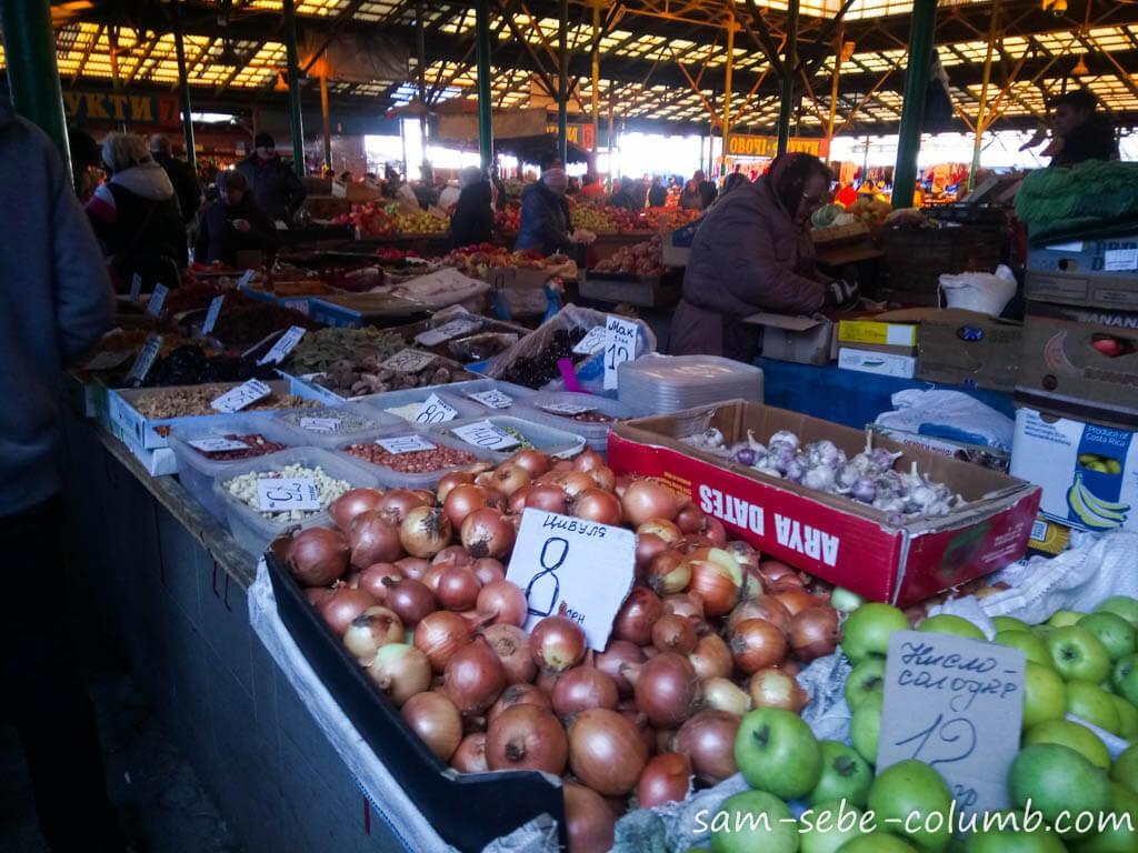 рынки во Львове