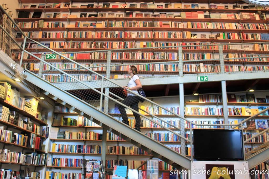 лиссабон книжный магазин