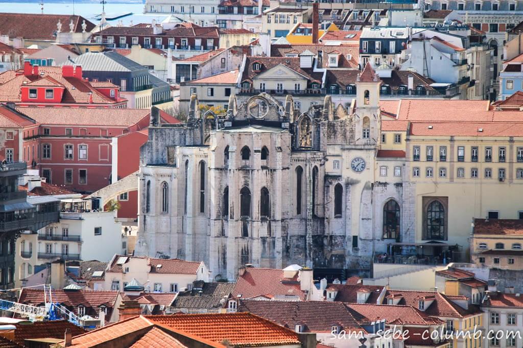 лиссабон кармелитский монастырь