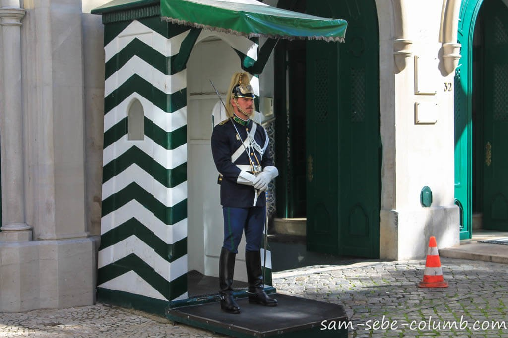 лиссабон почетный караул