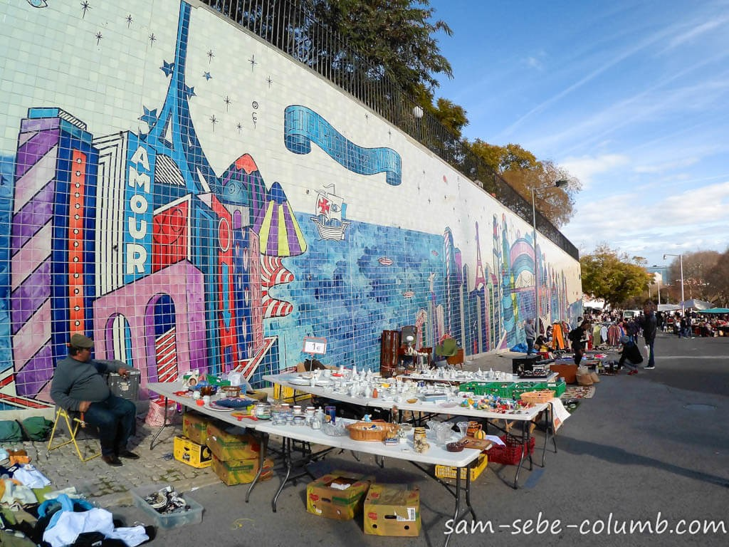 лиссабон рынок feira da ledra
